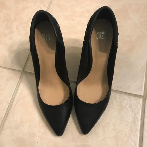 Joe's Jeans Shoes - 🦊Joe's Jeans Black Studded Heels